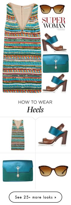"""""""Super Woman"""" by rasa-j on Polyvore featuring Tod's, Bulgari and Alice + Olivia"""