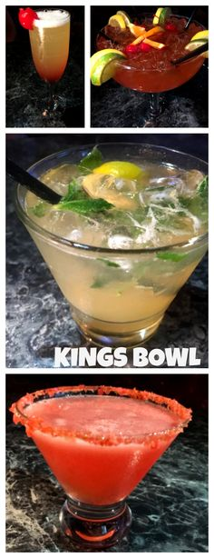 Kings Bowl is the perfect place to have a fun night on the town. The establishment has a full bar, 18 bowling aisle, arcade games, and great food