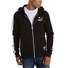 Men's T7 Full Zip Fleece Hoodie: SIZE SMALL