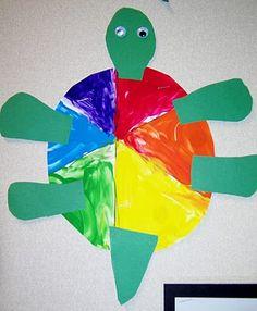 art & ideas that grow: Kindergarten Painted Turtles