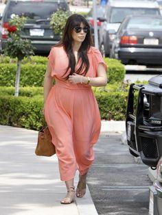 Kim Kardashian Maternity Dress - Kim Kardashian Clothes Looks - StyleBistro