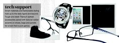 techy accessories and fashion