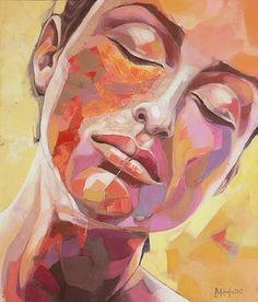 "Saatchi+Online+Artist+sorin+dumitrescu+mihaesti;+Painting,+""Portrait+0059""+#art"
