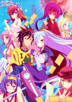 No Game No Life by langod on deviantART