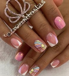 Mani Pedi, Pedicure, French Manicure Nail Designs, Semi Permanente, Simple Acrylic Nails, Chic Nails, Nail Trends, How To Do Nails, Make Up