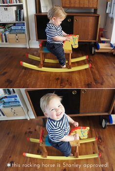 flea market rocking horse makeover, by sarah dyer