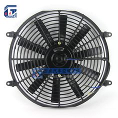 Universal 14'' Electric Condenser Cooling Fan 12V / 24V for Street / Rat / Hot Rod Classic Muscle Car Truck