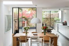 As the winter festivities begin, all eyes turn to the dining room as the heart of the celebrations. We've selected six beautiful dining rooms to inspire . Beautiful Dining Rooms, House Extensions, Kitchen Extensions, Houses Of Parliament, House Inside, House Layouts, Inspired Homes, Beautiful Interiors, Victorian Homes