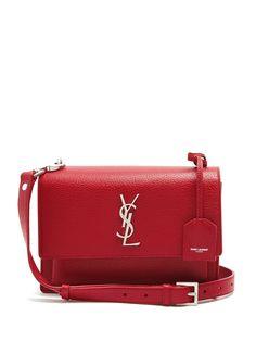 Sunset medium leather shoulder bag | Saint Laurent | MATCHESFASHION.COM UK