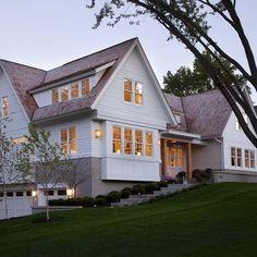 Modern Farmhouse change footing to stone