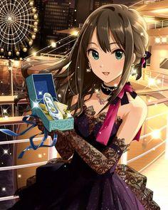 Shibuya Rin - The Idolm Cinderella Girls Anime Angel Girl, Anime Girl Dress, Cool Anime Girl, Pretty Anime Girl, Cute Anime Pics, Beautiful Anime Girl, Kawaii Anime Girl, Anime Art Girl, Anime Love