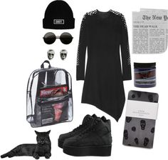 """""""Falling Away From Me..."""" by drunkonshadows on Polyvore"""