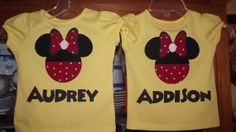 Minnie Mickey Mouse  Disney Birthday Party by creationsbyJeanne, $18.00