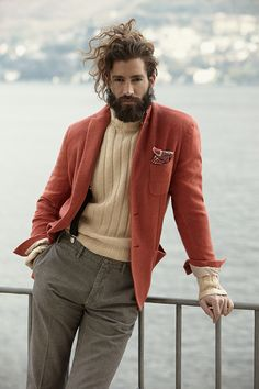 ♂ Masculine and elegance man's fashion casual wear