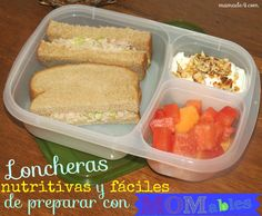 Loncheras nutritivas y fáciles de preparar con MOMables