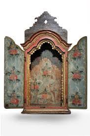 Resultado de imagem para oratórios de madeira Shadow Box Art, Home Altar, Altar Decorations, Assemblage Art, Home And Deco, American Crafts, Diy Arts And Crafts, Religious Art, Altered Art