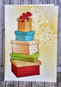 Sizzix - Tim Holtz - Packages and Bows - great tutorial