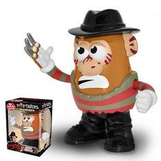 Mr Potato Head - Horror Icons - A Nightmare on Elm Street Movie - Freddy Kruger