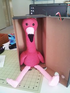 Crochet Crafts: Flamingo