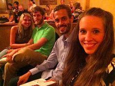 double date at the Arkansas Public Theater in Rogers with Dan and Deena last night. #dericklovejilldillard #dananddeena