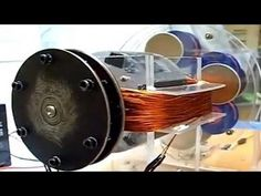 FREE ENERGY motor - copper wire coils and neodymium magnets