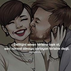 fall in love with someone who loves madness - Pin Champion Text Quotes, Wise Quotes, Inspirational Quotes, Turkish Sayings, Yes I Can, Good Sentences, Perfect Love, Word Up, Meaningful Words