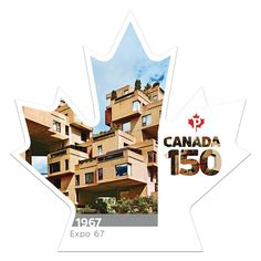 Canada Post Commemorates Canada's 150th Anniversary with Habitat 67 Stamp  http://www.archdaily.com/870317/canada-post-commemorates-canadas-150th-anniversary-with-habitat-67-stamp