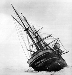 Endurance - Antarctic explorer Sir Ernest Shackleton's ship Endurance.  This story is all about patient endurance a skill I desperately need to master. Hebrews 10:36