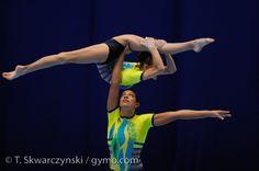 Acrobatic Gymnastics World Championships - Wroclaw 2010, via Flickr.