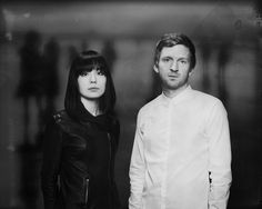 The Chopin Project - Hedinn Eiriksson, Ólafur Arnalds & Alice Sara Ott, Music, Double Exposure, BW, Black and White, Portrait, Duo, Composer, Pianist.