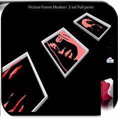 mesh picture frame 3 set 1 impact full perm