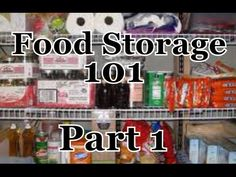 Introduction To Food Storage For Preppers - Video   Click To Watch: http://www.wholesurvival.com/37-survival-and-prepper-videos/food-storage-videos/26-introduction-to-food-storage-for-preppers