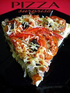 Pourquoi se priver quand c'est bon et léger?: Pizza surprise (4.5 pts ww)