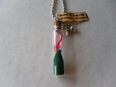 Once upon a time Peter Pan necklace