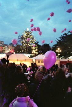 Palloncini che salgono - Foto di Alba Rigo