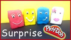 Play-Doh Surprise Eggs Mickey Mouse Clubhouse Minnie Mouse Pluto Donald ...