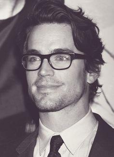 Matt Bomer style with squared glasses! Find more squared glasses at http://www.smartbuyglasses.com/designer-eyeglasses/general/--Wayfarer---------------------                                                                                                                                                      More