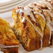 The 3-Ingredient Cinnamon Pull Apart Loaf We're Dying To Try