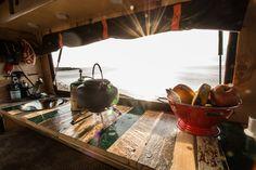 Camper Innenausbau, Küche, Interior