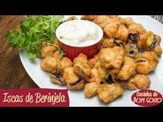 Iscas Crocantes de Berinjela com Molho de Parmesão   Cozinha do Bom Gosto - YouTube