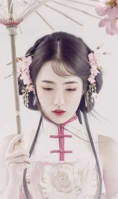 Asian Style, Chinese Style, Chinese Art, Traditional Chinese, Traditional Outfits, Ancient Beauty, China Girl, Oriental Dress, Chinese Clothing
