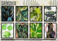 Textile candy: Premiere Vision Spring/Summer 2016 foliage, cheeseplant, leaf print, fern print