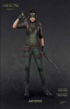 Artemis Character Outfits, Comic Character, Marvel Dc, Green Arrow Tv, Dc Comics, Black Siren, Vigilante, Dinah Laurel Lance, Cw Dc