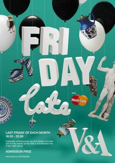 Image result for V&A lates poster
