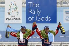 Sebastien Loeb wins the 58th Rally Acropolis and joined world rally legends Miki Biasion, Walter Rohrl and Carlos Sainz by becoming a three-time winner of the Acropolis Rally following his standout triumph in Loutraki on Sunday May 27, 2012.  Congratulations to the Champ & team and to the Greek Organization for a spectacular event.