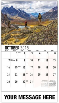Printable October Calendar October Calendar 2018 Template, October Calendar 2018 PDF, October Calendar 2018 with Holidays Printable, October Calendar 2018 Blank October Calendar, Calendar 2018, Layout Design, Wall, Amazing