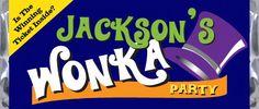 Willy Wonka Themed Birthday Wrapper