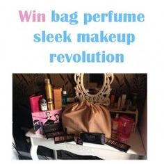 Win bag perfume sleek makeup revolution ^_^ http://www.pintalabios.info/en/youtube-giveaways/view/en/189 #International #MakeUp #bbloggers #Giweaway