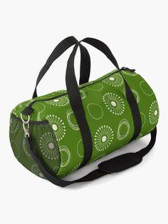White Dandelion, Work Travel, Baggage, Gym Bag, Shoulder Strap, Backpacks, Zipper, Classic, Pattern