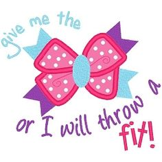 Bow Fit Applique - 3 Sizes! | Words and Phrases | Machine Embroidery Designs | SWAKembroidery.com